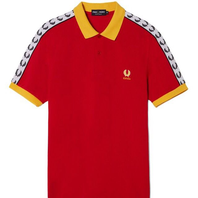 "#FredPerry ""España Country Shirts Collection"" #polos #shirts #original #og #fredperrypolo #fredperryauthentic #fredperryshirt #futbol #football #eurocopa #uefaeuro2016 #españa #seleccionespañola #seleccion #españa2016 #ss16 #exclusivo #exclusive http://www.rivendelmadrid.es/catalogsearch/result/?q=Country"