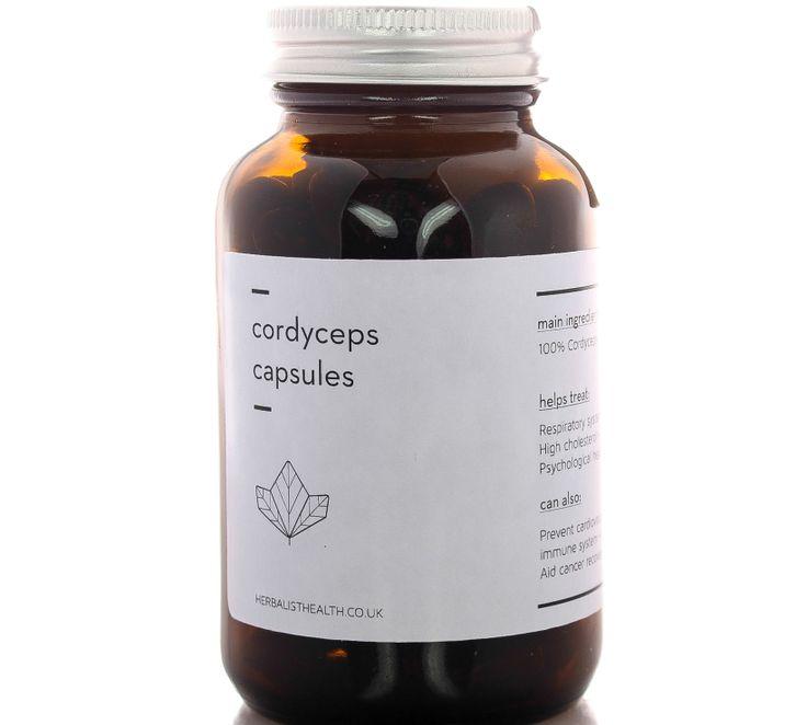 cordyceps capsuals, £120.00