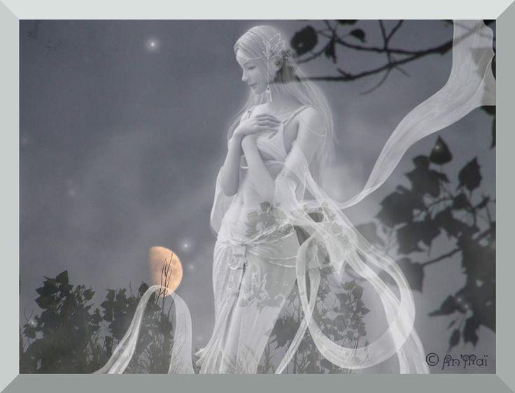 NUIT Le soleil lentement descend vers la colline, Il embrase le ciel dont la nue s'illumine. Déjà l'ombre s'étend. Un grand chêne dessine Ses branches torturées dans le jour qui décline. De la lune Pierrot sourit à Colombine. Les oiseaux se sont tus dans...