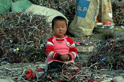 E-Waste: Where cell phones go to die.