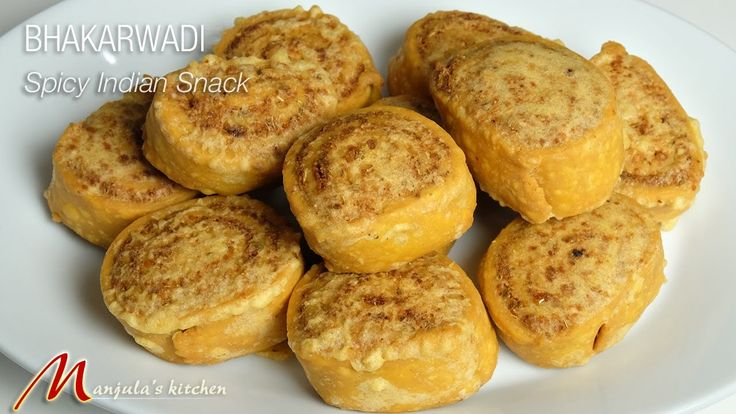 Bhakarwadi is a delicious sweet and spicy snack. Bhakarwadi is a popular snack from Gujrat and Maharashtra. Bhararwadi is a tasty snack.