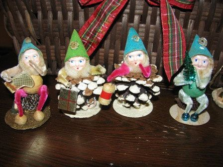 17 best images about vintage christmas on pinterest for Gnome 3 decoration fenetre