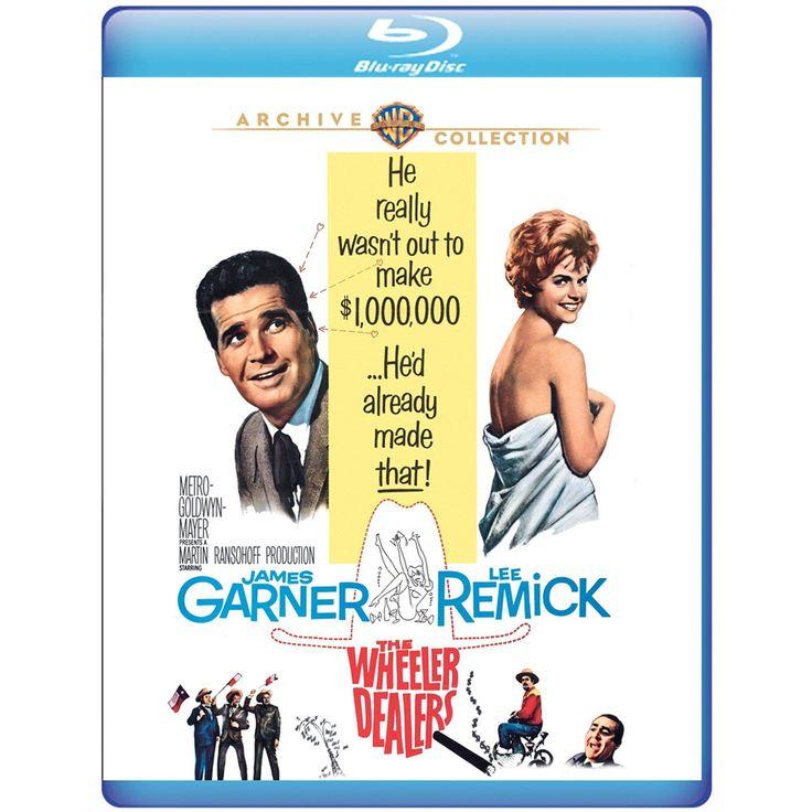 The Wheeler Dealers - Blu-Ray (Warner Archive Region Free) Release Date: April 25, 2017 (Amazon U.S.)