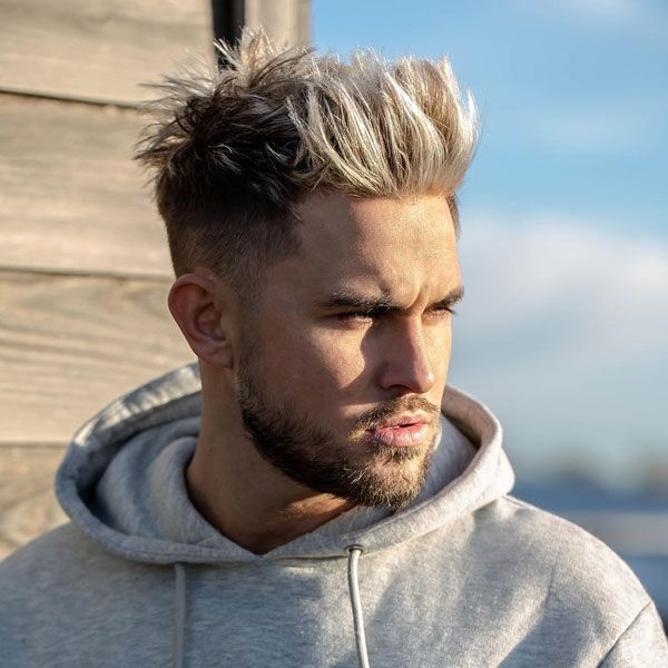 59 Hot Blonde Hairstyles For Men 2020 Styles For Blonde Hair Long Hair Fade Men Blonde Hair Cool Hairstyles For Men
