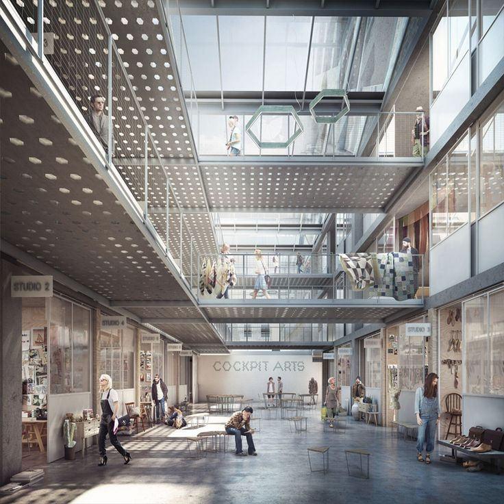 Forbes Massie / 3D Visualisation Studio / London - Work - Coffey Architects…