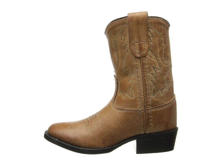 Old West Kids Boots Western Boot (Toddler) Cowboy Boots Tan Canyon
