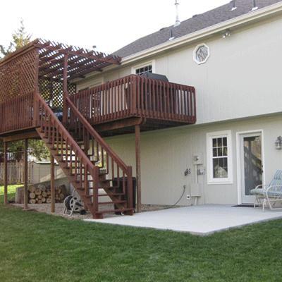34 best decks & patio cover ideas images on pinterest | backyard ... - Deck And Patio Ideas