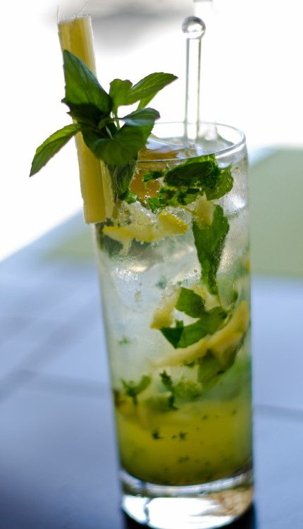 Rhum cocktail