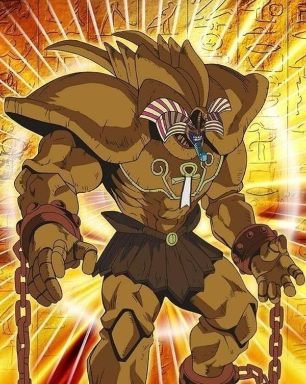 Exodia Official Art Yugioh Anime Monsters Yugioh Monsters Good