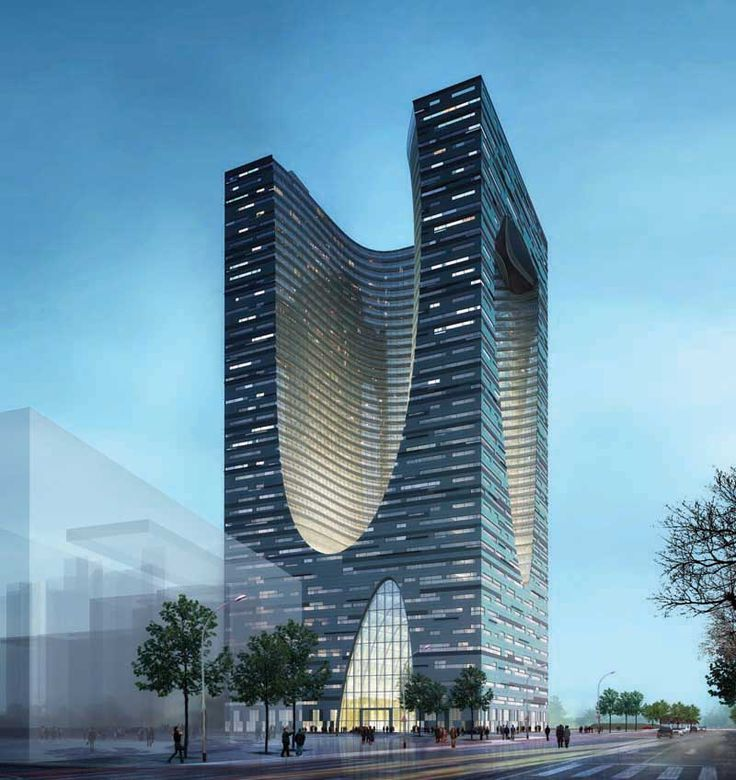 Shidai Tower Harbin China Building Competition