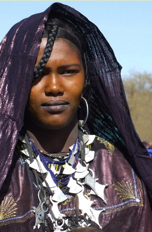 Africa   Tuareg woman photographed at the Iférouane Festival 2006. Niger   ©Daniele L