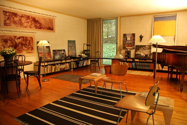 Philip Johnson's first residential project hits the market for $1 million
