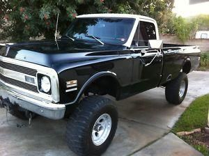 1969 Chevy Truck, My dad had one. Was brown w/ white top. Remember learning to…