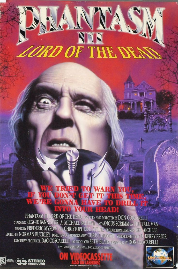 The Barbaric Bs of Schlocky Creek: 31 Nights of Terror #23 - Phantasm III (1994)