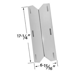 Grillpartszone- Grill Parts Store Canada - Get BBQ Parts,Grill Parts Canada: Sterling Forge Heat Shield | Replacement Stainless...