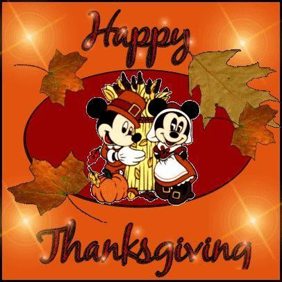 Happy Thanksgiving. | Disney ~ Dibujos, caricaturas ...