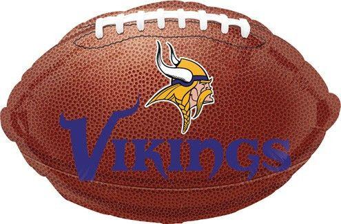 """18"""" NFL Vikings Foil Balloon"""