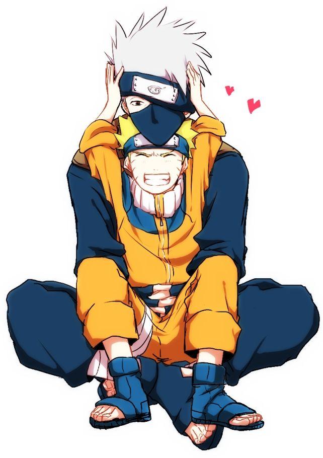 Kakashi & Naruto...too cute!!!