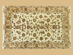 Иранский персидский ковер из шерсти и шелка Табриз Авшан 307х205см
