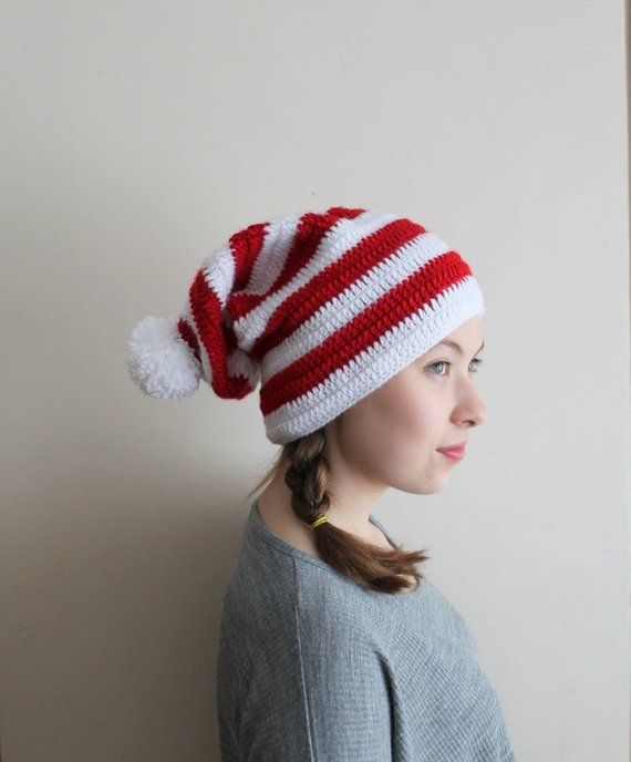 Striped Christmas Hat 73322693d