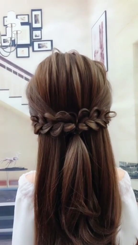 15 Simple And Easy To Learn Hair Style Video For Busy Women Short Hair Styles Easy Diy Hairstyles Easy Hairstyles