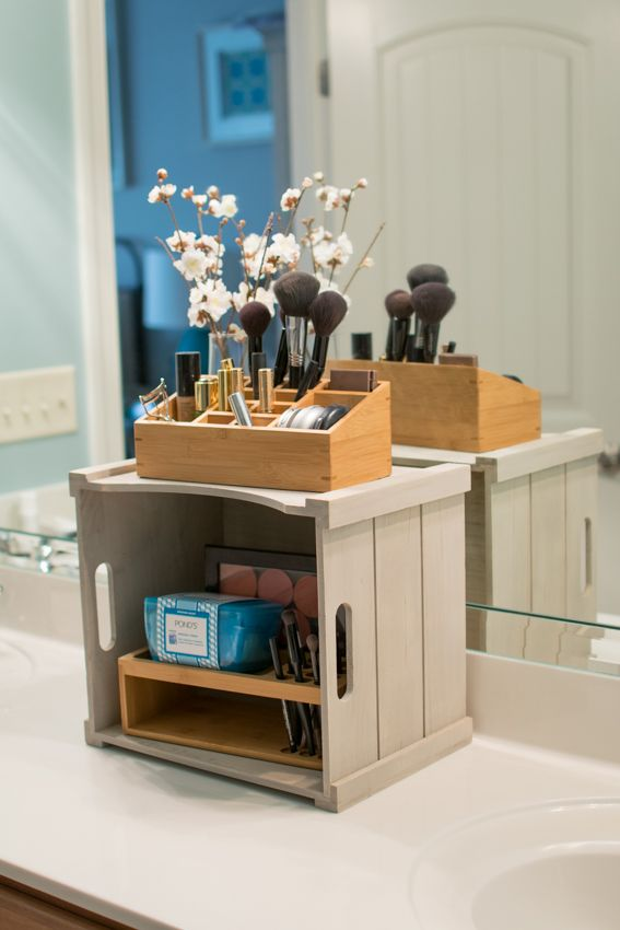 Love This Idea For Bathroom Counter Great Ideas