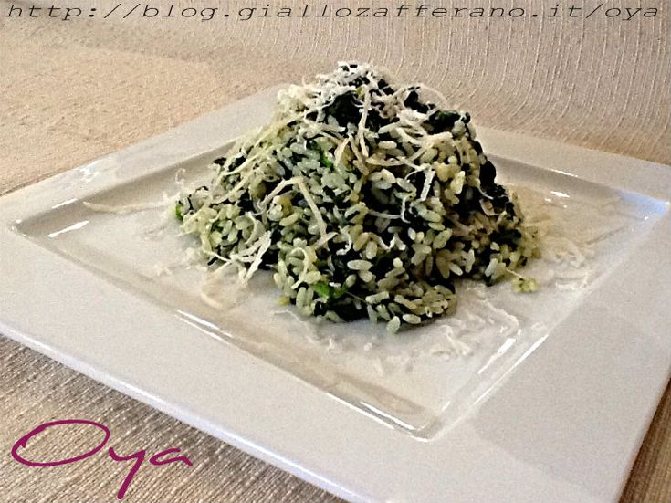 Risotto spinaci e parmigiano, ricetta saporita