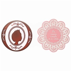 The best protection that any table could ask for. Peppy Brown Royal and Lace vintage rubber coasters