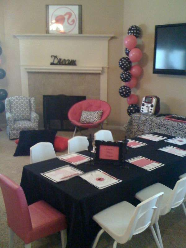 Barbie Glam Birthday Party Ideas   Photo 1 of 23   Catch My Party