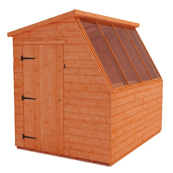 Buy your wooden potting shed from Tiger Sheds. We specialise in making high quality garden potting sheds, buy online and recieve free delivery.