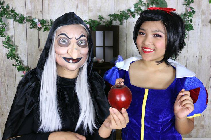 Snow White 'Witch' Makeup Tutorial