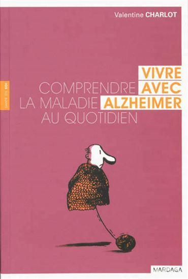 Valentine Charlot décrit le quotidien des malades et de leurs proches. Elle propose également des conseils pour accompagner les personnes souffrantes.  Cote: RC 523 C53 2013