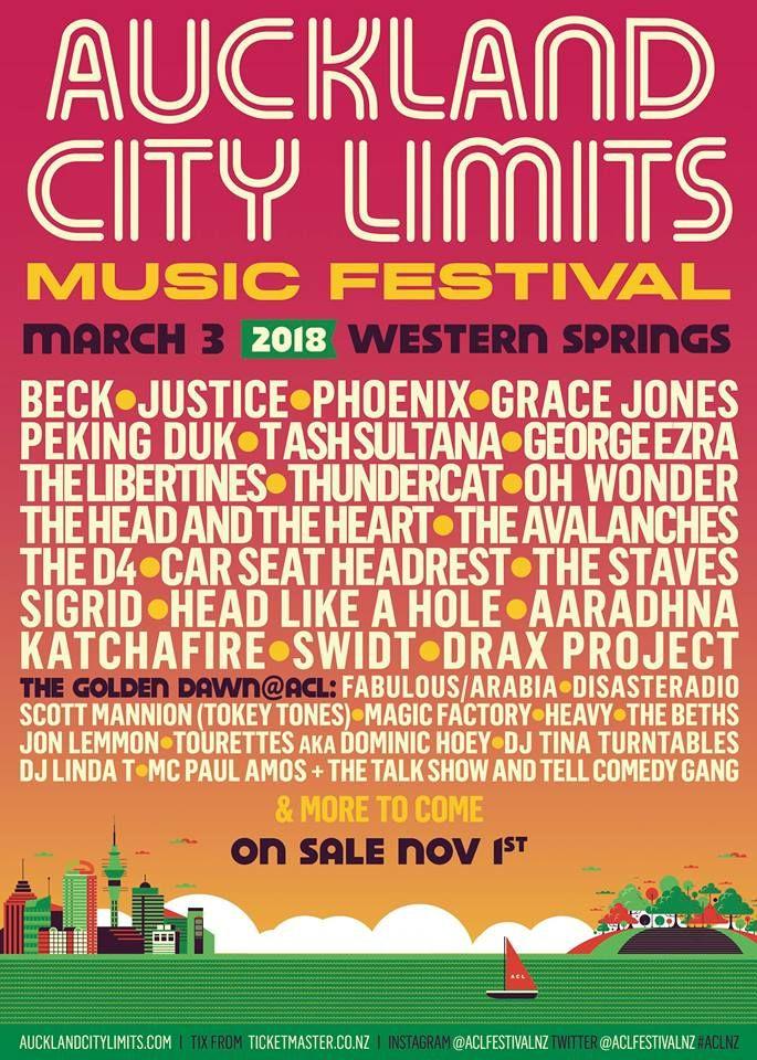 Every Music Festival Poster From 2018 | Music Festival