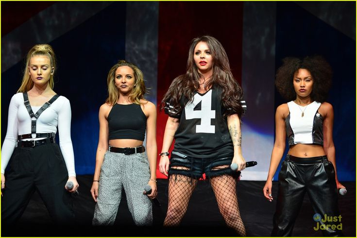 Little Mix. The ladies in concert