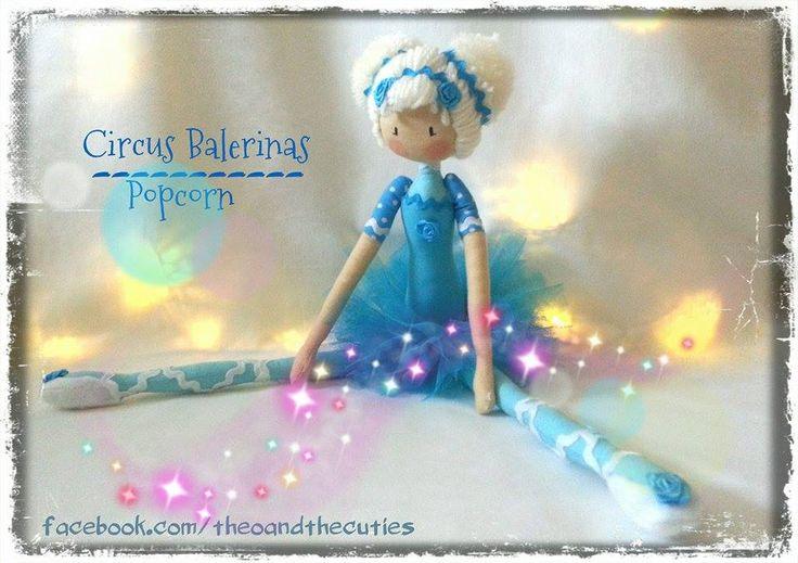 Theo and the Cuties - Circus Balerinas - Popcorn facebook.com/theoandthecuties