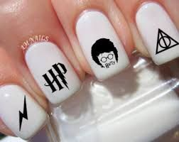 Image result for harry potter nails