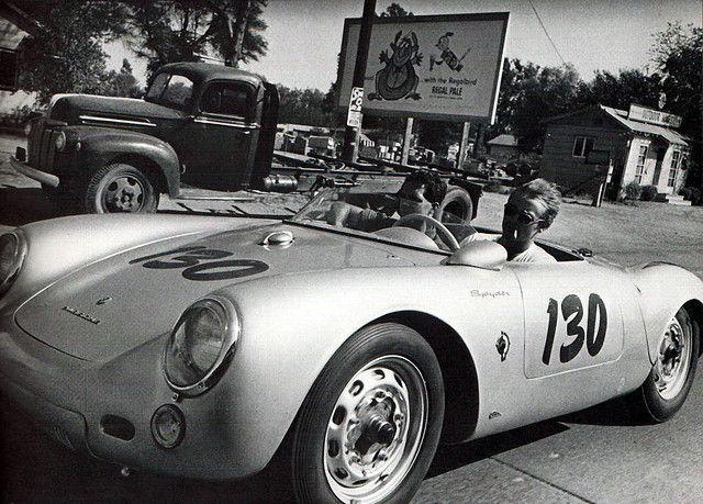 """James Dean's Porsche 550 Spyder """"Little Bastard"""""""
