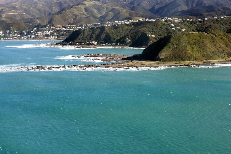 South coast, Wellington, New Zealand