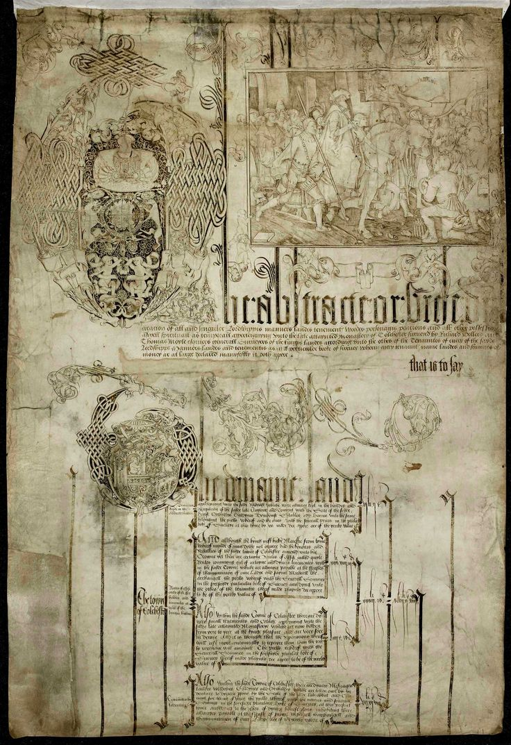 Dissolution of the Monasteries by Henry Vlll in 1538.  Hence, the founding of the Anglican Church.