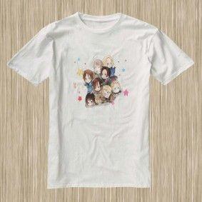 Hetalia Axis Powers C02W #HetaliaAxisPower #Anime #Tshirt