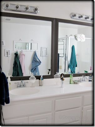 Bathroom Mirror Makeover Pinterest 16 best bathroom mirror ideas images on pinterest | mirror ideas