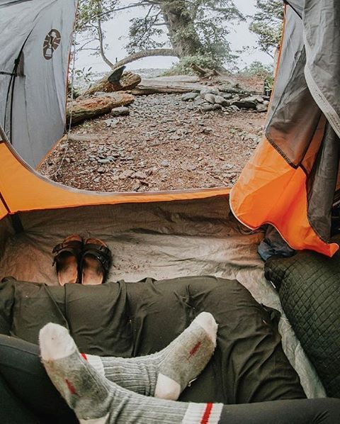 Too much Monday, too little Saturday.  www.sitka.ca | Sitka Woolies  Photo by @kimmexplores #SitkaGoods #SitkaWoolies #MadeInCanada #TentViews