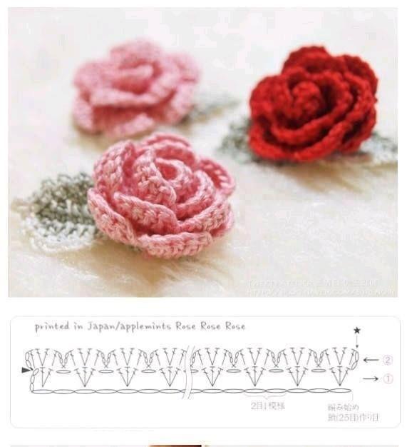 56 best Fleurs et plantes au crochet images on Pinterest