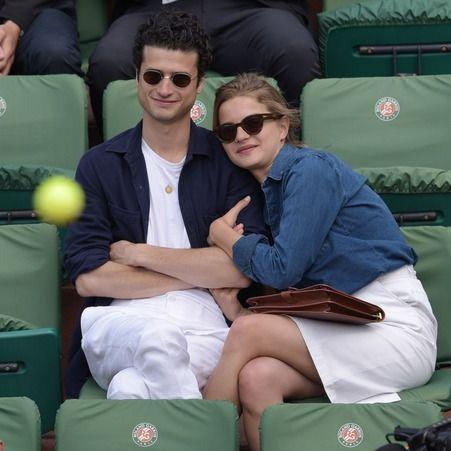 Adrien Gallo et sa compagne