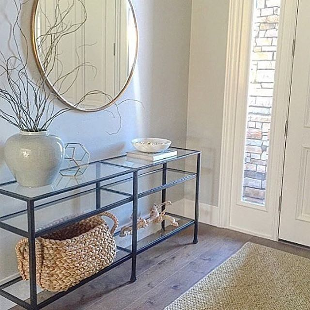 Beautiful entry of @eyeforpretty home feat. our Tanner Console  #mypotterybarn