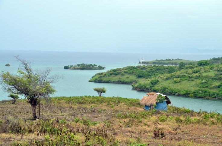 Off-shore islands in Tanjung Ringgit, Lombok.