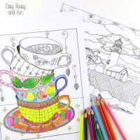 100 free coloring pages for adults and children - Html Color Sheet