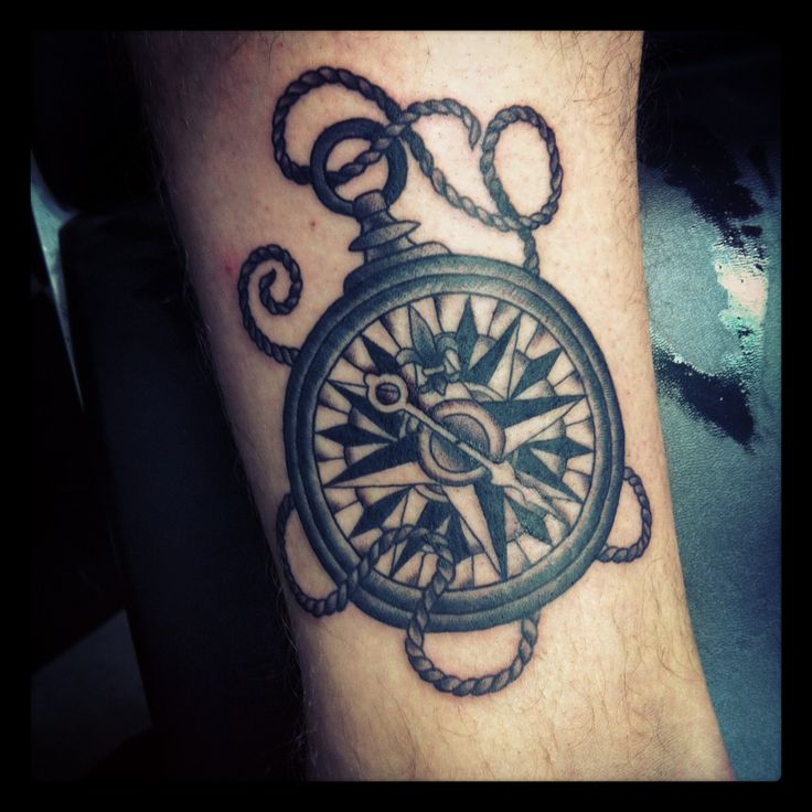 40 Traditional Compass Tattoo Designs For Men: Best 25+ Traditional Compass Tattoo Ideas On Pinterest