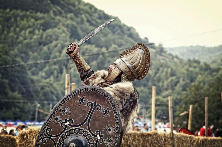 Dacian reenactor