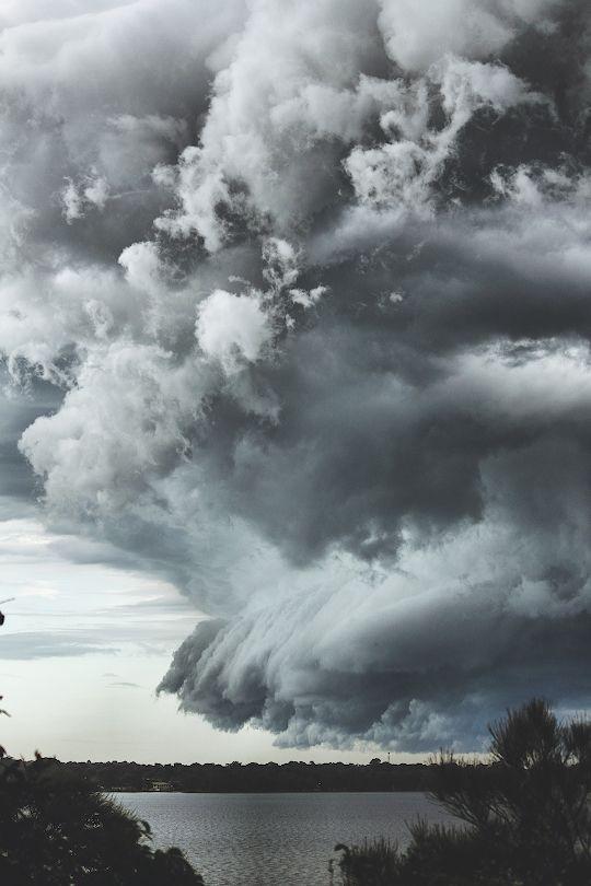 """banshy: """" Storm Clouds // Wes Hooper """""""